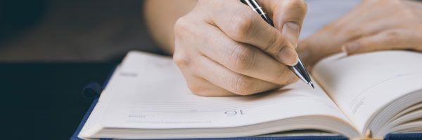 scrie in jurnal